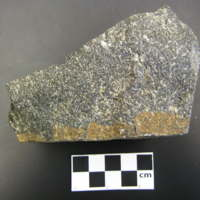 Two-pyroxene-plagioclase granulite