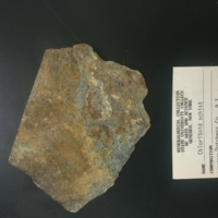 Chloritoid schist