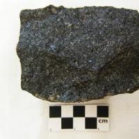 Garnetiferous olivine metagabbro